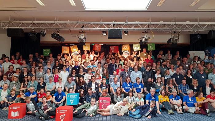 Schule im Aufbruch: Fachtag in Leverkusen (Gruppenbild)